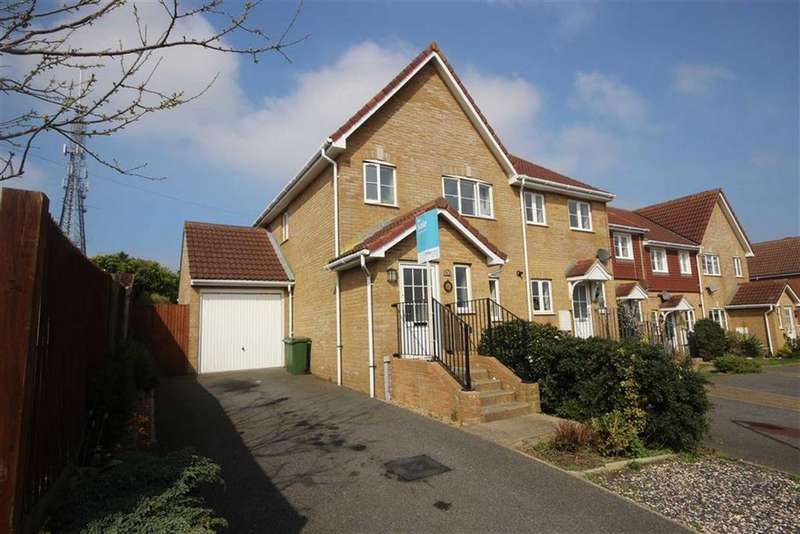 3 Bedrooms Semi Detached House for sale in Haven Way, Newhaven
