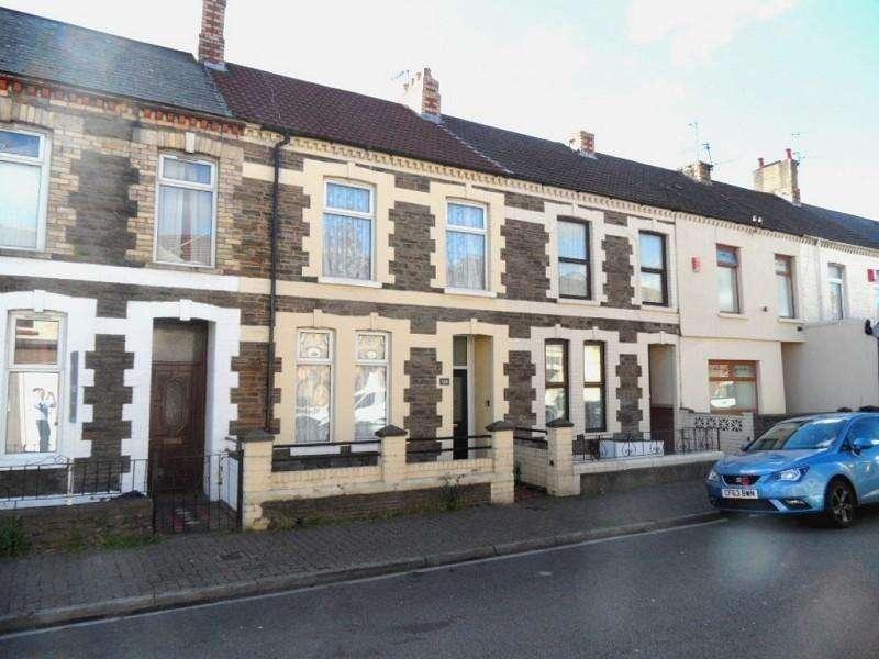 3 Bedrooms Terraced House for sale in Carlisle Street, Splott, Cardiff. CF24 2PG