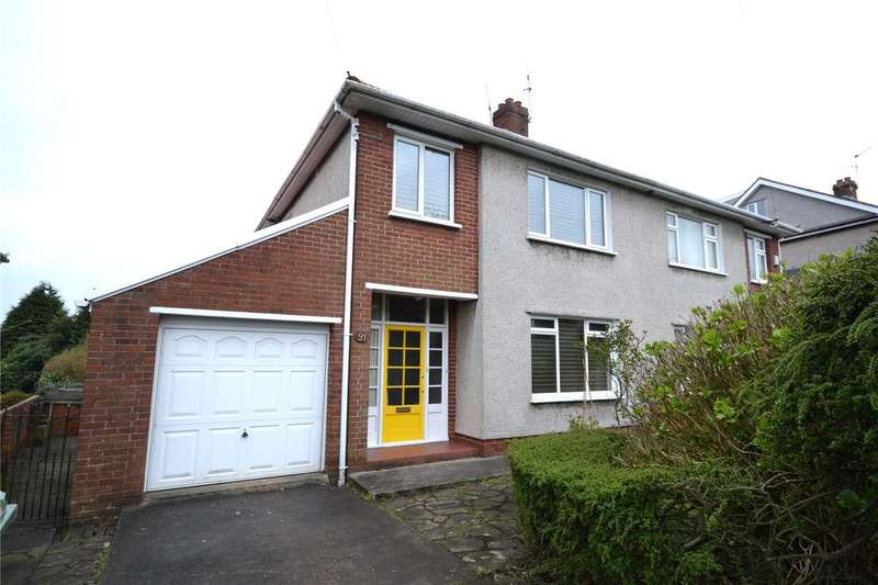 3 Bedrooms Semi Detached House for sale in Brandreth Road, Cyncoed, Cardiff, CF23