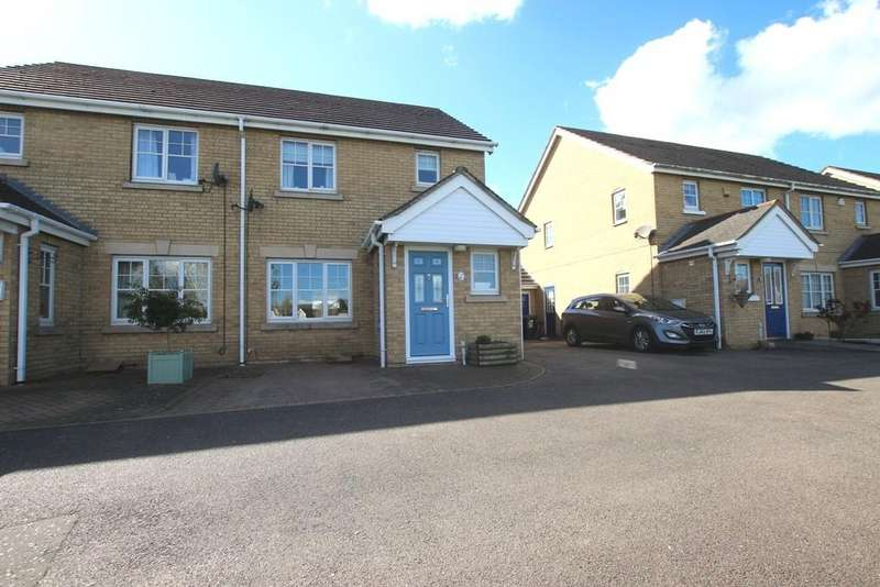 3 Bedrooms Semi Detached House for sale in Meadow Way, Mepal