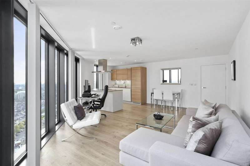 2 Bedrooms Flat for sale in Unex Tower, London, E15