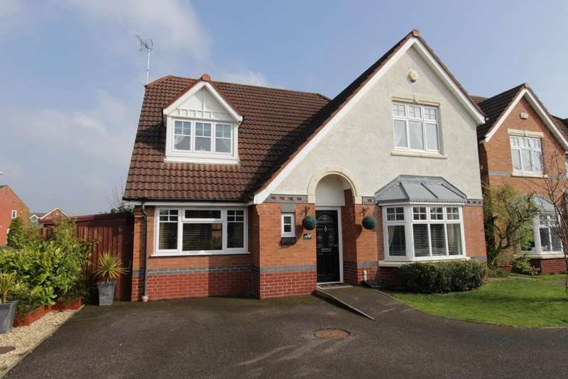 4 Bedrooms Detached House for sale in Kempton Drive, Dosthill