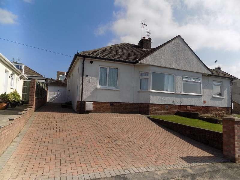 2 Bedrooms Semi Detached Bungalow for sale in Coleridge Close, Cefn Glas, Bridgend. CF31 4QB