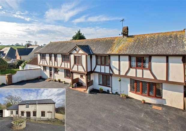 5 Bedrooms Detached House for sale in Jubilee Grove, Lympstone, Devon