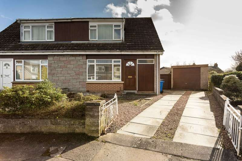 2 Bedrooms Semi Detached House for sale in Mericmuir Place, Dundee, DD3 9AQ