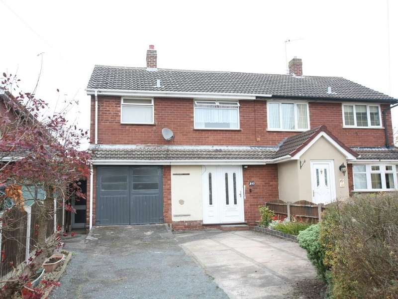 3 Bedrooms Semi Detached House for sale in 103 Stafford Street, Heath Hayes, WS12 2EN