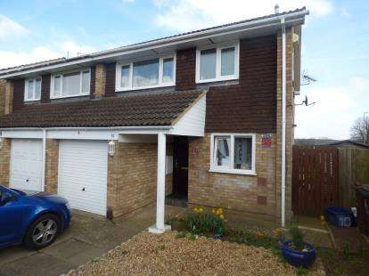 3 Bedrooms Semi Detached House for sale in Park Hill Road, The Arbours, Northampton, Northamptonshire