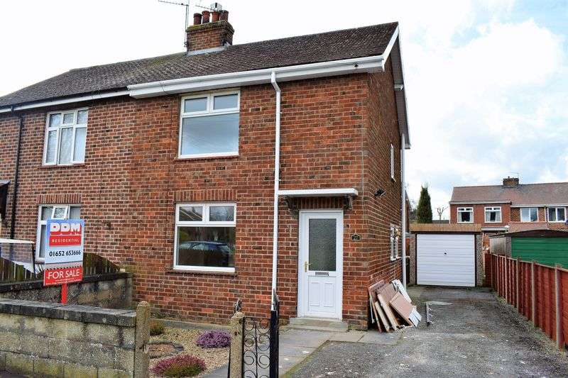3 Bedrooms Semi Detached House for sale in Elm Way, Brigg