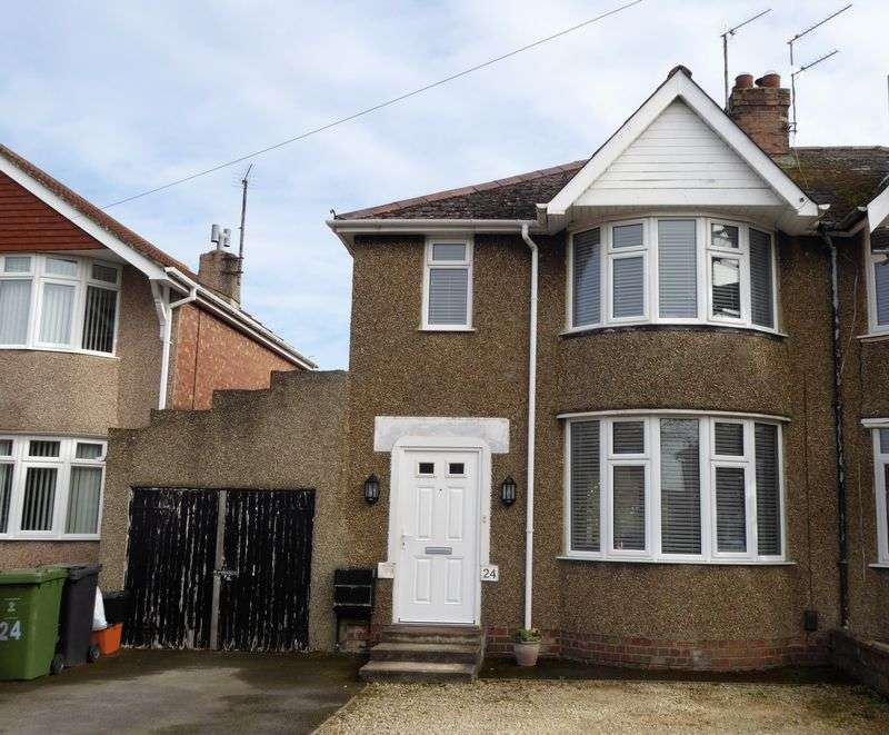 3 Bedrooms Semi Detached House for sale in Somerset Road, Rodbourne Cheney