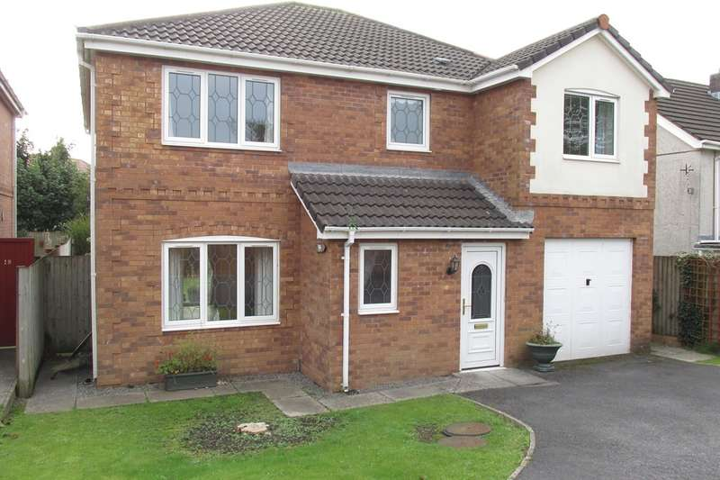 4 Bedrooms Detached House for sale in Brownhills, Gorseinon, Swansea