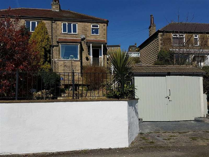 3 Bedrooms Semi Detached House for sale in Sunnybank Road, Greetland, Halifax, HX4