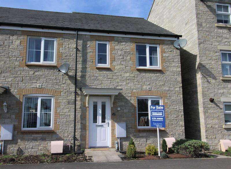 3 Bedrooms End Of Terrace House for sale in Paper Lane, Paulton, Bristol