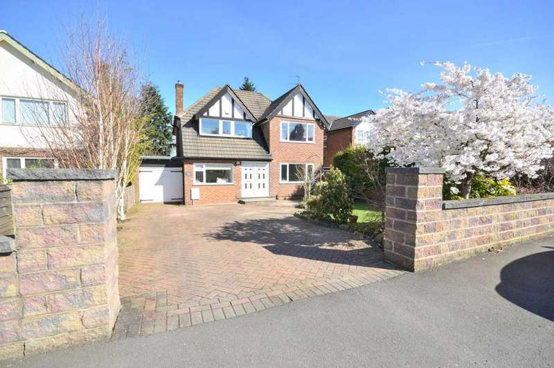 4 Bedrooms Detached House for sale in Laneside Drive, Bramhall