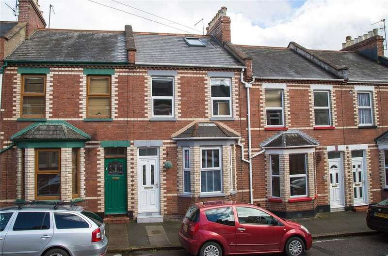 3 Bedrooms Terraced House for sale in Baker Street, Exeter, Devon, EX2