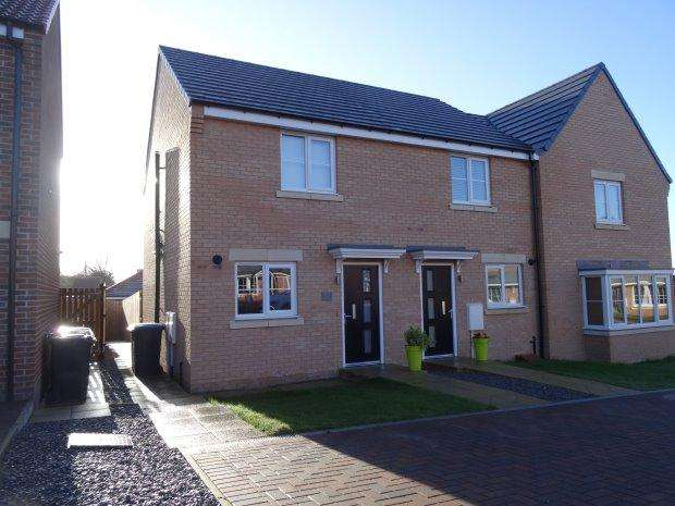 2 Bedrooms Semi Detached House for sale in RUSHYFORD DRIVE, CHILTON, SEDGEFIELD DISTRICT