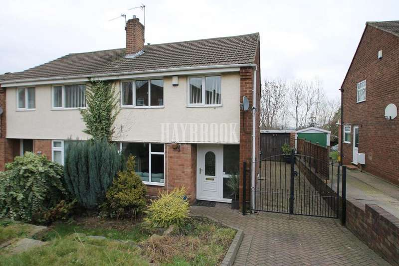 3 Bedrooms Semi Detached House for sale in Hall Road, Moorgate, Rotherham