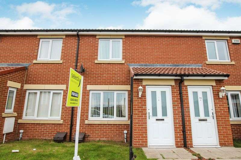 2 Bedrooms Terraced House for sale in Low Farm Drive, Redcar