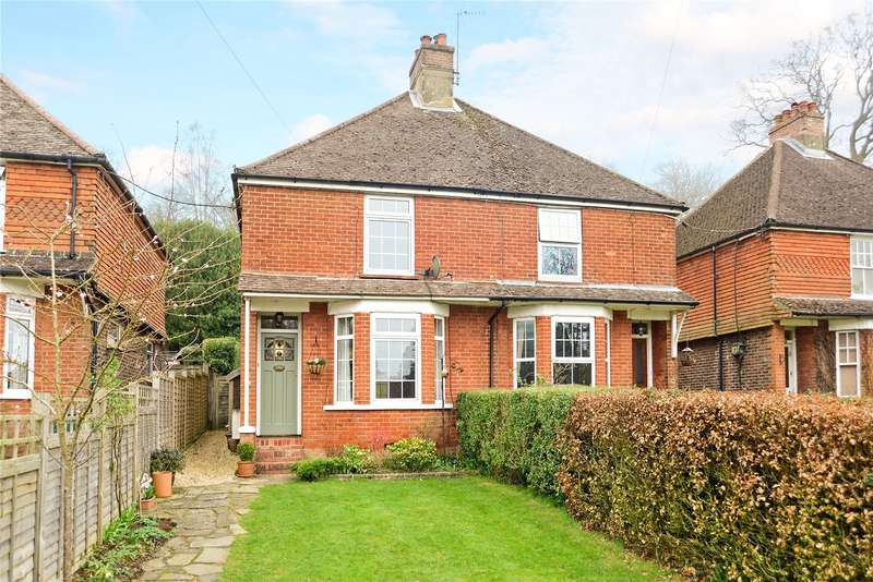 3 Bedrooms Semi Detached House for sale in Underwood Road, Haslemere, Surrey, GU27