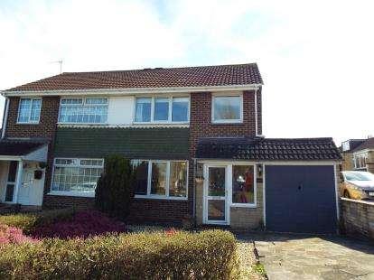 3 Bedrooms Semi Detached House for sale in Avonmead, Greenmeadow, Swindon, Wiltshire