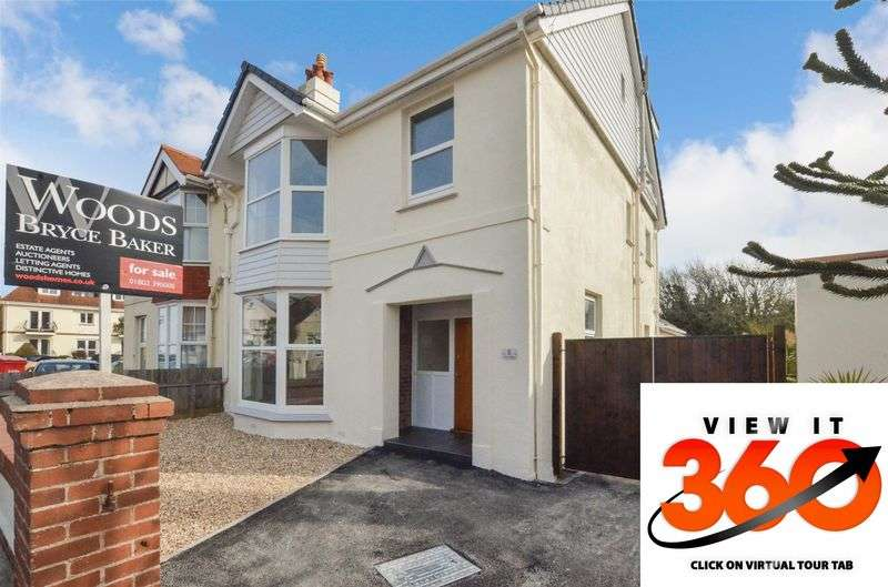 5 Bedrooms Semi Detached House for sale in Morin Road, Preston, Paignton