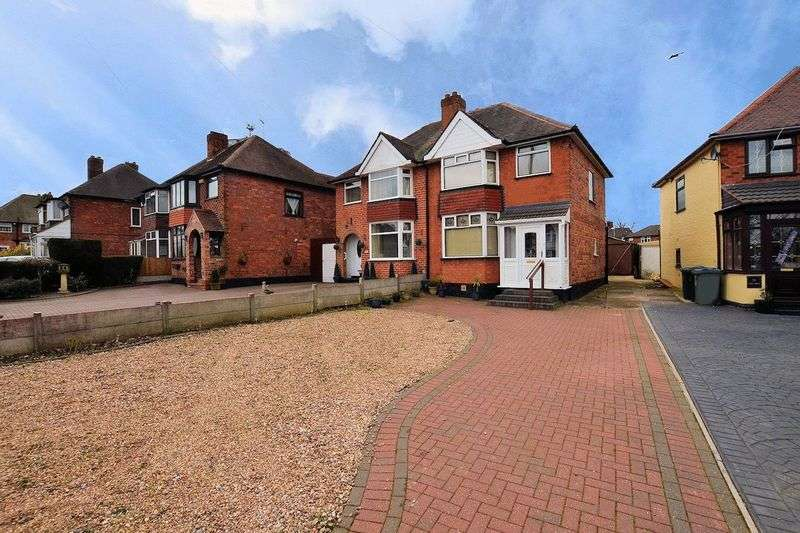 3 Bedrooms Semi Detached House for sale in Crawford Avenue, Smethwick