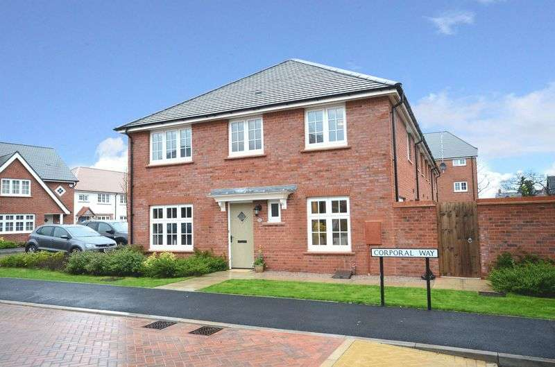 3 Bedrooms Terraced House for sale in Corporal Way, Saighton, Chester