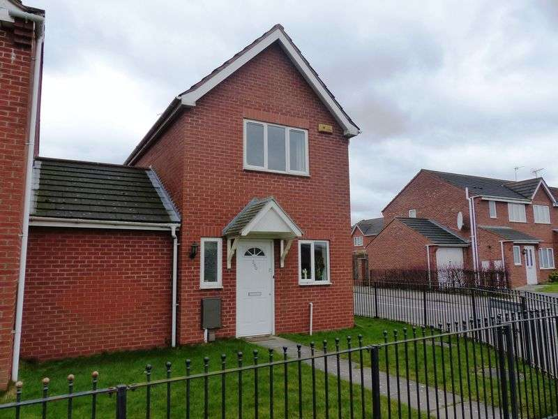 2 Bedrooms Semi Detached House for sale in Woodfield Avenue, Lincoln