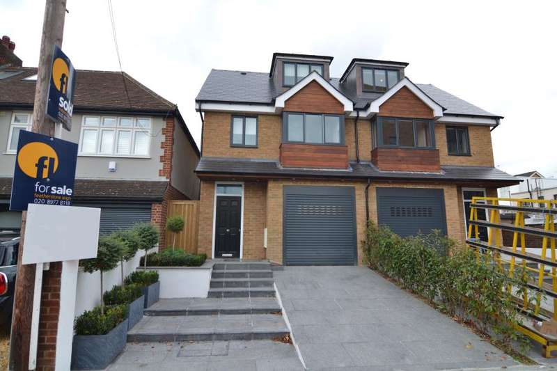 4 Bedrooms Semi Detached House for sale in Elmfield Avenue, Teddington, TW11