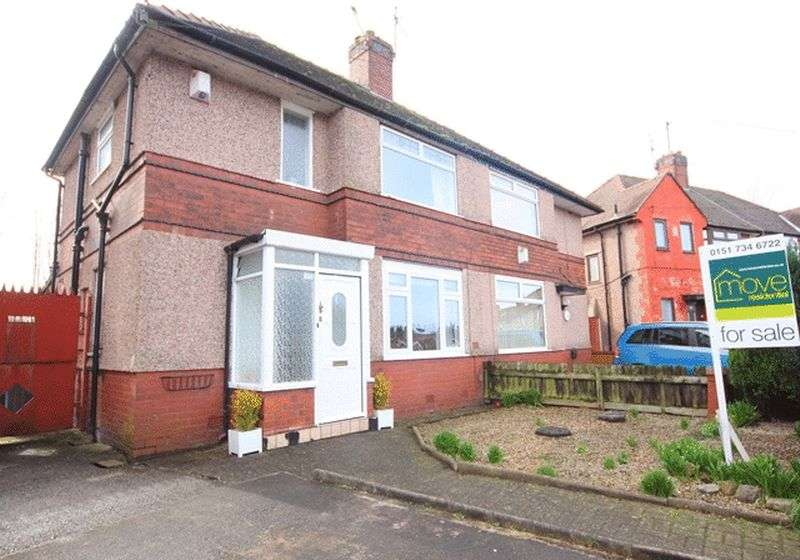 3 Bedrooms Semi Detached House for sale in Southmead Road, West Allerton, Liverpool, L19