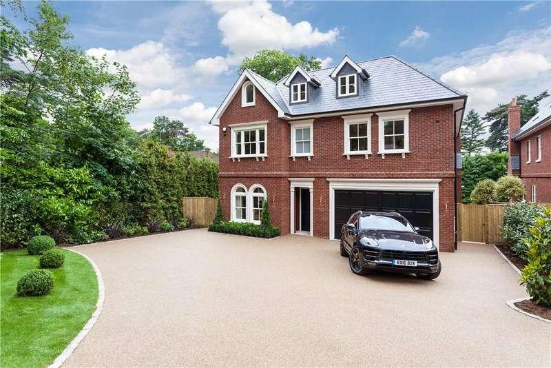 6 Bedrooms Detached House for sale in Cobbetts Hill, Weybridge, Surrey, KT13