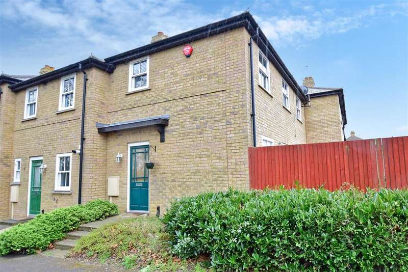 3 Bedrooms End Of Terrace House for sale in Falcon Close, Herne Common, Herne Bay, Kent