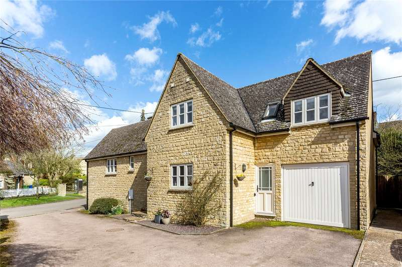 4 Bedrooms Detached House for sale in The Cedars, Greatworth, Banbury, Northamptonshire, OX17