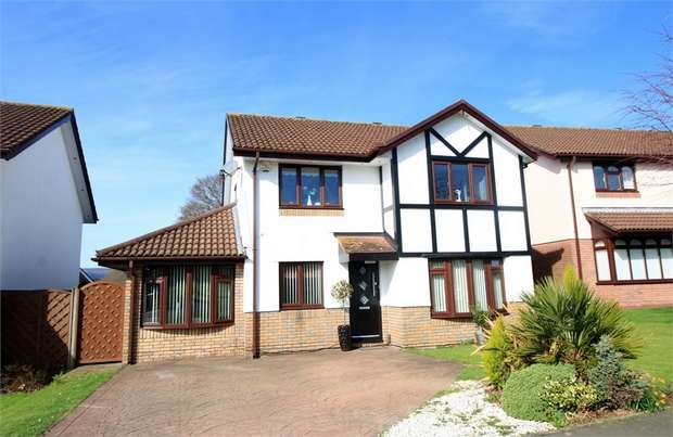 4 Bedrooms Detached House for sale in Ruskin Avenue, Rogerstone, NEWPORT