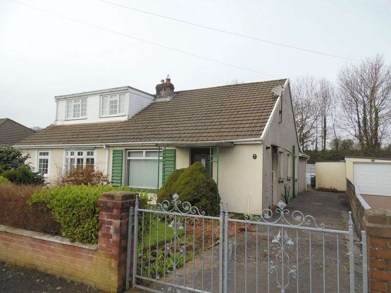 2 Bedrooms Semi Detached Bungalow for sale in Hafod Las Pencoed Bridgend CF35 5NB
