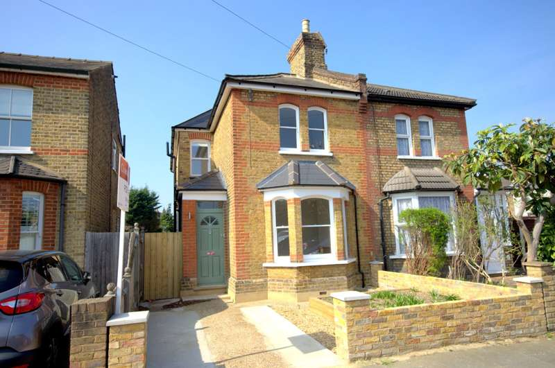 3 Bedrooms Semi Detached House for sale in New Malden