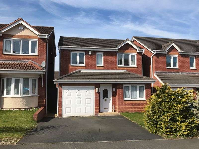 3 Bedrooms Detached House for sale in Verona Road, Oakalls, Bromsgrove
