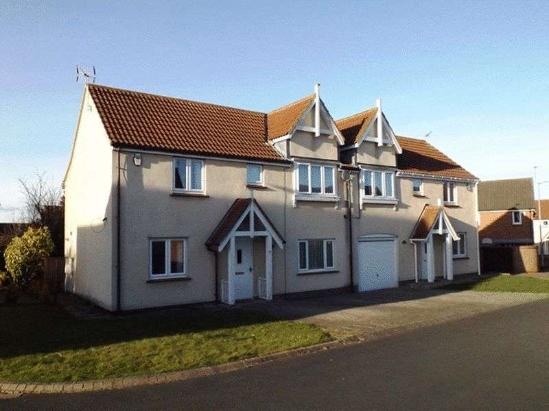 3 Bedrooms Semi Detached House for sale in Cedar Court, Widdrington - Three Bedroom Semi Detached House