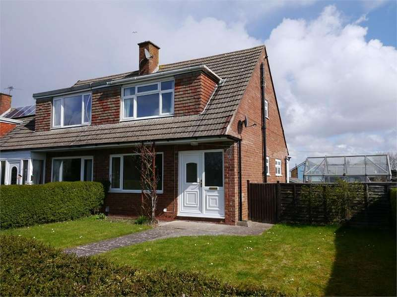 3 Bedrooms Semi Detached House for sale in Norris Close, Penarth