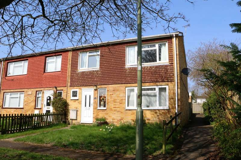 3 Bedrooms End Of Terrace House for sale in Ludlow Close, Winklebury, Basingstoke, RG23