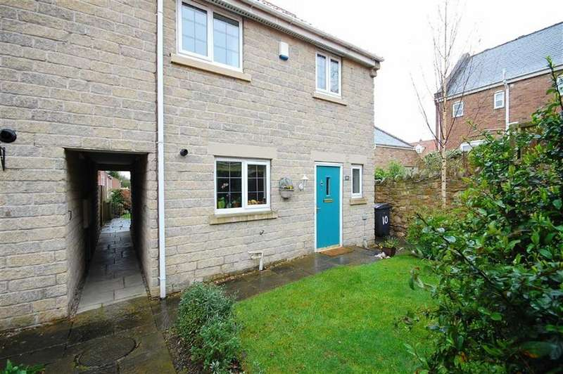 3 Bedrooms Town House for sale in Hall Garth Mews, Sherburn In Elmet, Leeds, LS25