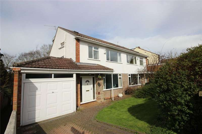 4 Bedrooms Semi Detached House for sale in Pinewood Close, Westbury-on-Trym, Bristol, BS9