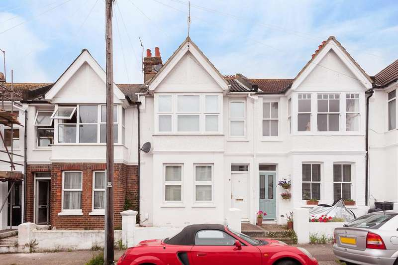 3 Bedrooms Terraced House for sale in Linton Road, Hove BN3