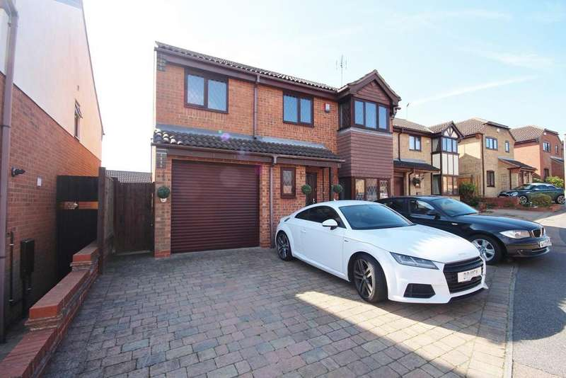 5 Bedrooms Detached House for sale in Launton Close, Barton Hills, Luton, LU3