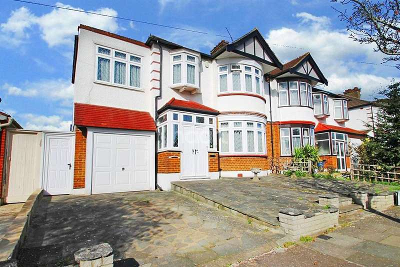 4 Bedrooms Semi Detached House for sale in Worcester Gardens, Ilford, Essex