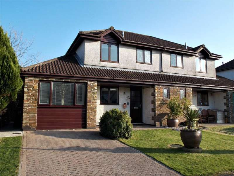 4 Bedrooms Semi Detached House for sale in Mayfield Drive, Roche, St Austell