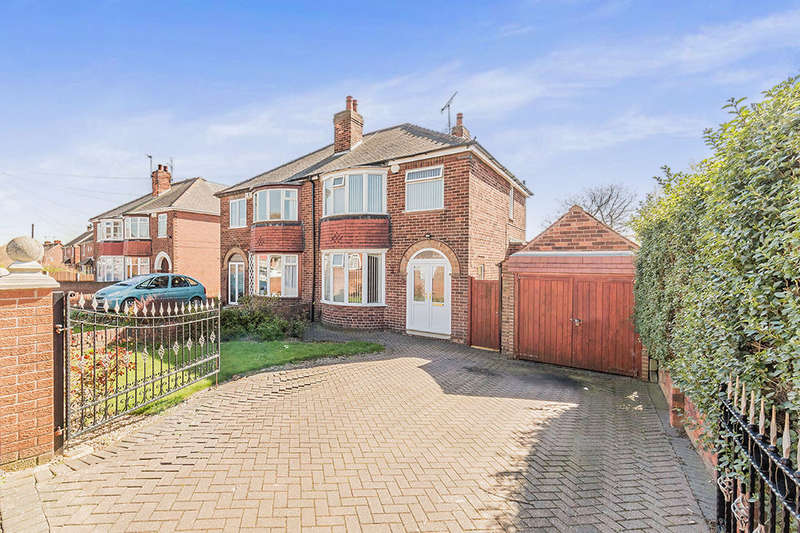 3 Bedrooms Semi Detached House for sale in Tenter Lane, Warmsworth, Doncaster, DN4