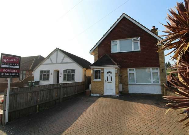 3 Bedrooms Detached House for sale in Glenfield Road, Ashford, Surrey
