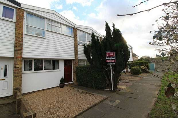 2 Bedrooms Terraced House for sale in Ashdene Close, Ashford, Surrey