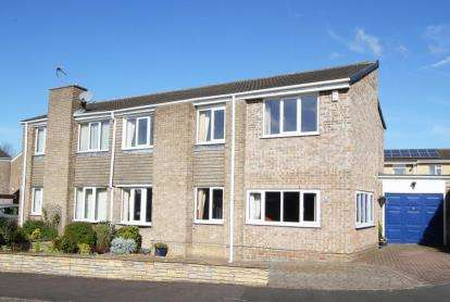 3 Bedrooms Semi Detached House for sale in Rodwood Avenue, Barlborough, Chesterfield, Derbyshire