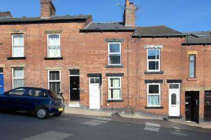 2 Bedrooms Terraced House for sale in Tennyson Road, Sheffield, South Yorkshire
